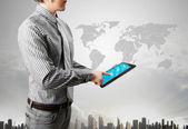 Touch tablett konceptet — Stockfoto