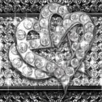 kalp elmas — Stok fotoğraf