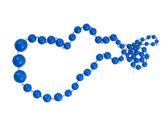 Perles bleues — Photo