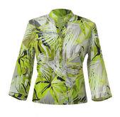 Green jacket — Stock Photo