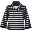 Women striped jacket — Foto Stock