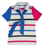 Striped t-shirt — Stock Photo