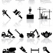 Stock Vector: Building icons