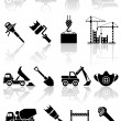 Building icons — Stock Vector #10759397