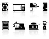 Home appliances — Vector de stock