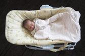 Just born baby sleeps — Stock Photo