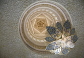 Arabic interior decorative elements — Stock Photo
