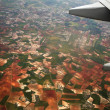 View from a plane — Stock Photo