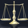 Justitia's scales — Stock Photo