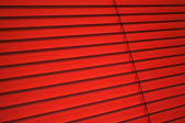 Red blinds — Stock Photo