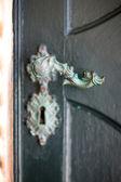 ビンテージ doorhandle — ストック写真