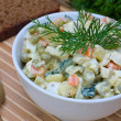 Russitraditional salad olivier — Stock Photo #10782714