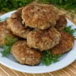 Stock Photo: Fried cutlet
