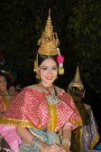 在泰国清迈 loy 灯节节 — 图库照片