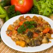 Vegetable ragout — Stok fotoğraf