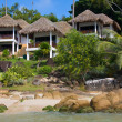 Tropical beach house on island Koh Samui, Thailand — Stock Photo #10814833