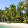 Beautiful tropical beach. Thailand — Stock Photo