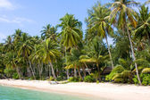 Beautiful tropical beach. Thailand — Stock Photo
