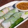 Fresh thai vegetable rolls — Stock Photo #10893501