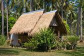Topical beach house — Stock Photo