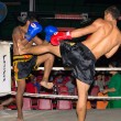 Unidentified players in Thai Fight : Muay Thai - Stock Photo