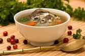 Fresh-soup — Stock Photo