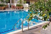 Swimming pool in spa resort . — Stock fotografie