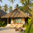 Beach bungalow — Stock Photo