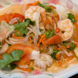 Foto Stock: Thai seafood spicy salad
