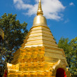 Buddhist stupa in Thailand - Stock Photo