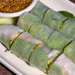 Thai Vegetable Rolls — Stock Photo