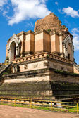 Wat Chedi Luang in Chiang Mai Thailand. — Stock Photo