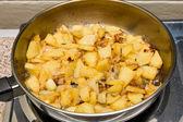 Potatoes fried — Stock Photo