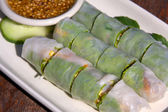 Thai Vegetable Rolls — Stock Photo