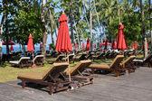 Piękne tropikalnej plaży w Tajlandii — Zdjęcie stockowe