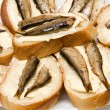 Sandwiches with sprats — Stock Photo #11076490