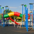 Stock Photo: Colorful playground