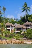 Tropical beach house, Thailand — Stock Photo