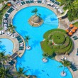 Pool view from the top — Stock Photo