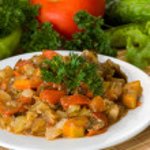 Vegetable ragout — Stock Photo