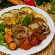 Baked vegetables — Stock Photo #11399703