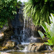 Water fall in garden — Stock Photo #11401628