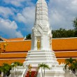 White pagodin thai temple — Stock Photo #11408370