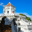 Phra Sumen Fort, Bangkok, Thailand - Stock Photo