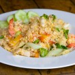 Постер, плакат: Seafood fried rice