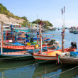 Fishing village - Stock Photo