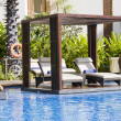 Swimming pool in Thailand — Stock Photo #11522036