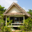 Stock Photo: Tropical beach house