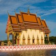 Buddhistic temple on Koh Samui island, Thailand - Foto Stock
