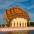 Buddhistic temple on Koh Samui island, Thailand - Stock Photo